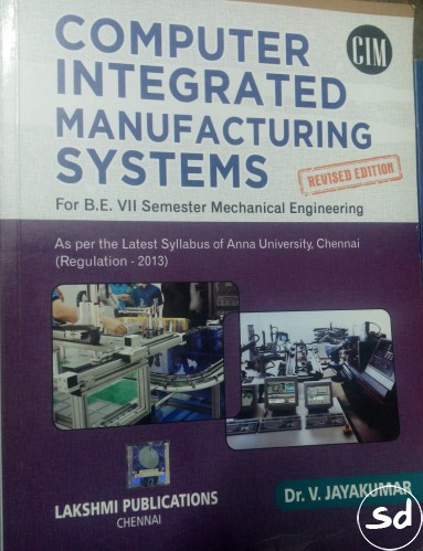 Computer integrated manufacturing systems cims