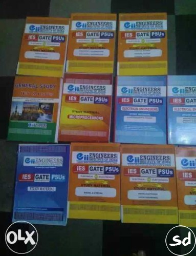 Ies gate psu preparation books
