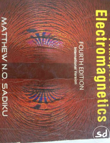 Principles of electromagnetics, 4th edition, international version