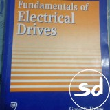 Fundamentals of electrical drives 2nd edition