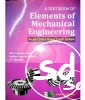 Textbook Of Elements Of Mechanical Engineering