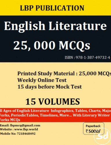 Ugc net set english literature