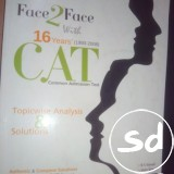 Face 2 face with 16 years cat previous years papers by arihant